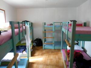De slaapzaal waar ik sliep in Suncheon.
